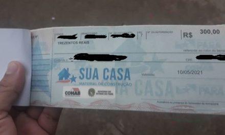 MP Eleitoral investiga distribuição de cheques de programa da Cohab às vésperas das eleições no Pará