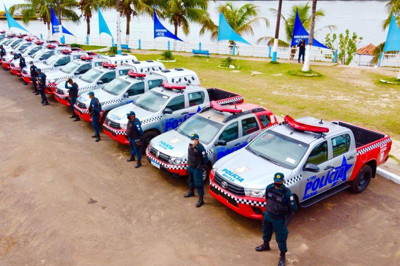 Governo do Estado entrega novas viaturas no Marajó Oriental e moderniza frota