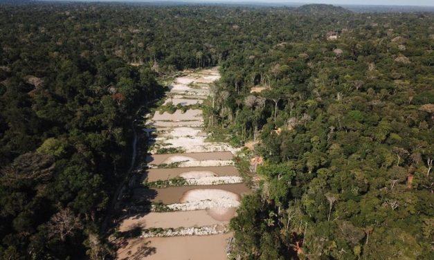 Levantamento mostra avanço da mineração em terras indígenas