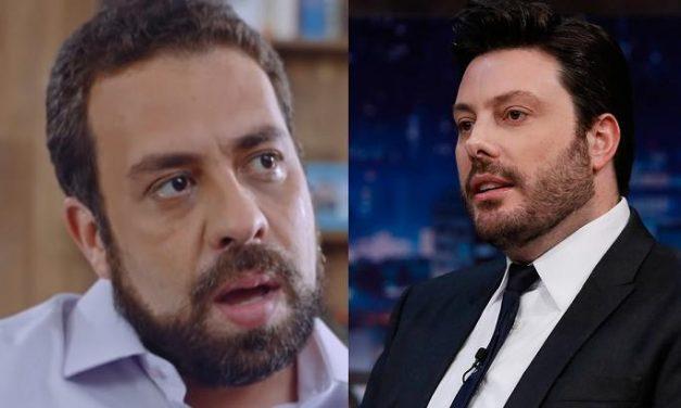 Danilo Gentili é detonado na web após se equivocar em crítica a Boulos