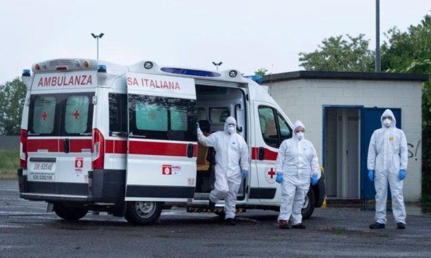 Itália volta a ultrapassar 800 mortes por covid em 24h