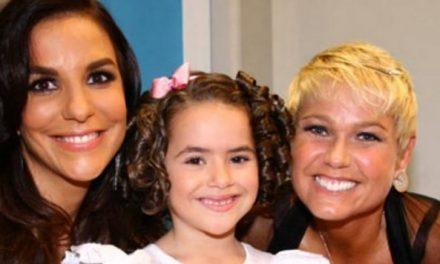 Maisa relembra foto antiga com Xuxa Meneghel e Ivete Sangalo Rainhas