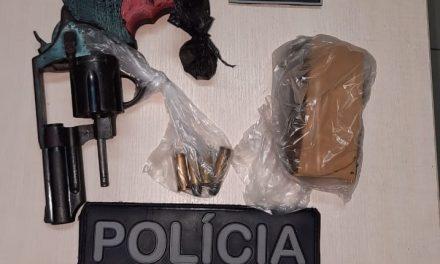 Operação Impacto apreende arma de fogo e 600 gramas de entorpecentes em Ananindeua