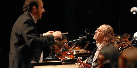 Alceu Valença canta acompanhado da Orquestra Ouro Preto em live neste domingo