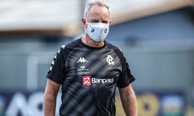 """Bonamigo avalia empate com Londrina """"bom negócio"""" e projeta Re-Pa diferente: """"Decisivo"""", diz"""