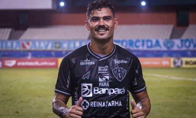 """Tony comemora 1º gol pelo Papão e alerta sobre quadrangular: """"Nada conquistado ainda"""""""