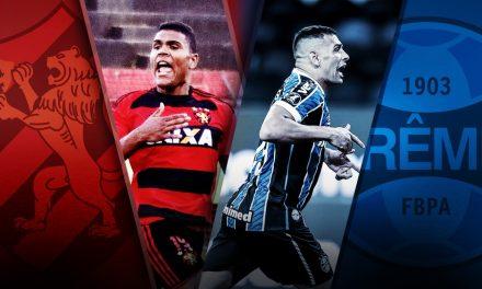 """Contra Grêmio, atacante do Sport sonha em reencontro com Diego Souza: """"Minha inspiração"""""""