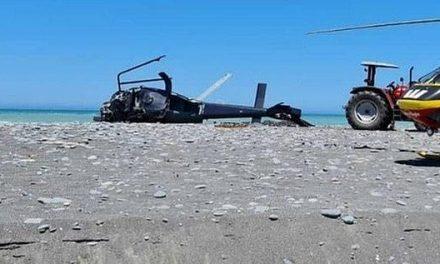 Três crianças sobrevivem a acidente de helicóptero que matou seus pais