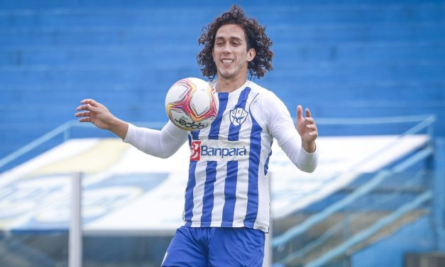 """Nicolas vê Paysandu forte e confiante para reencontro com o Remo: """"Totalmente preparados"""""""
