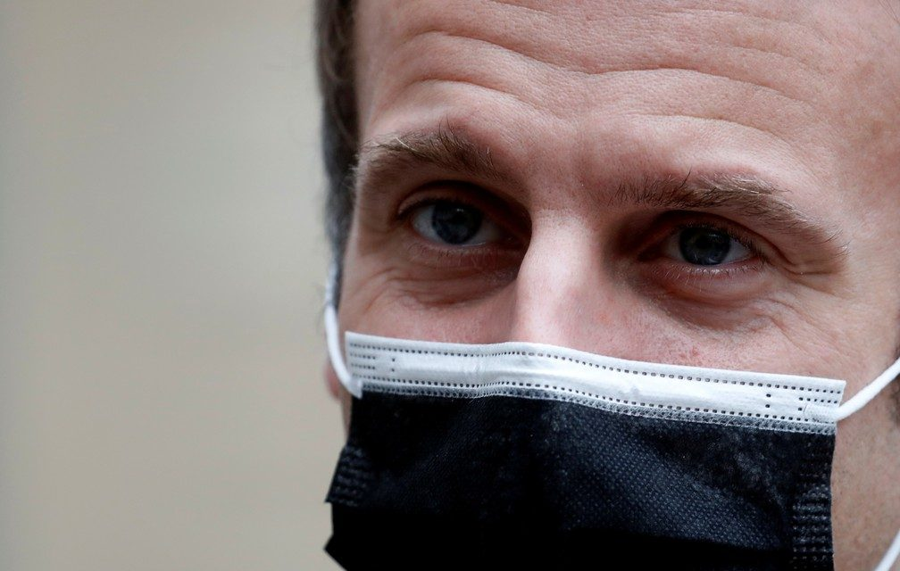 Emmanuel Macron tem diagnóstico positivo para a Covid-19
