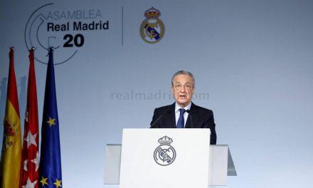 Presidente do Real Madrid defende a criação da Superliga Europeia
