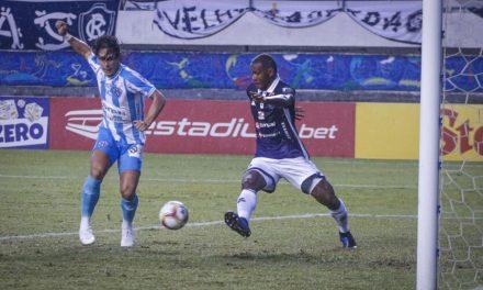 Com gol nos acréscimos Paysandu vence o Londrina