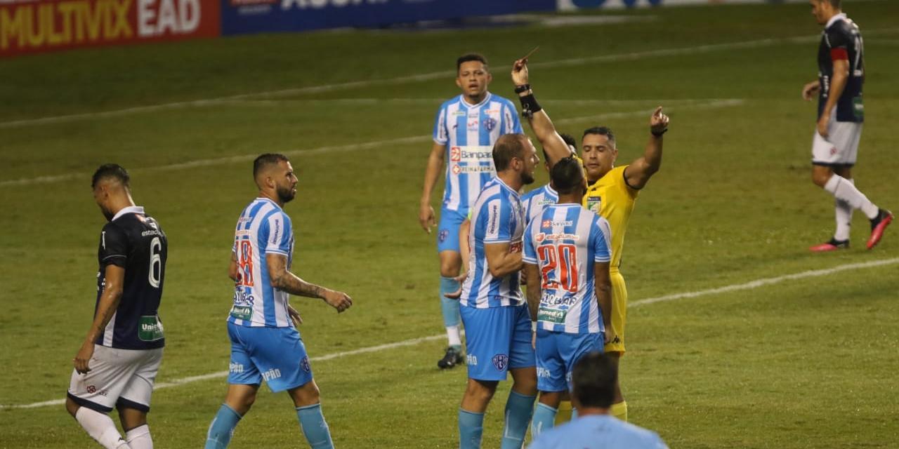 Lesões, suspensões, falta de peças… Meio-campo do Paysandu não correspondeu na Série C