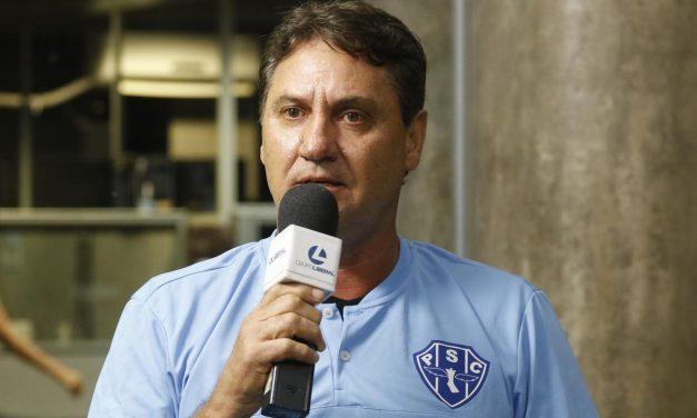 Depois de diretor de futebol, Paysandu confirma saída do treinador João Brigatti