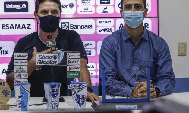 Paysandu inicia reconstrução do futebol com as saídas de Felipe Albuquerque e Brigatti