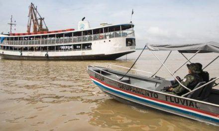 Grupamento Fluvial recupera barco em menos de uma hora após o furto