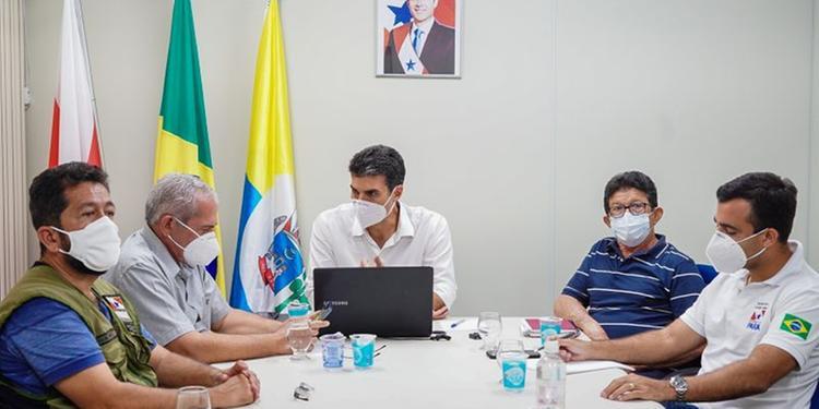 Governador alerta prefeitos do Baixo Amazonas sobre necessidade de mais restrições