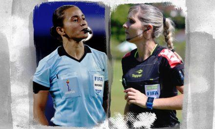 Edina Alves e Neuza Back celebram pioneirismo no Mundial de Clubes do Catar
