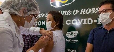 Começa a vacinação contra a covid em Barcarena