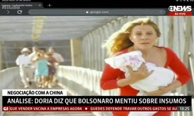 Comentarista da GloboNews compara governo Bolsonaro com Nazaré Tedesco