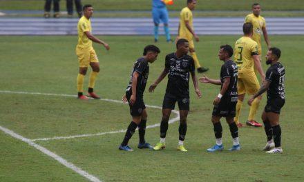 Paysandu goleia Galvez em Belém e confirma vaga nas quartas de final da Copa Verde