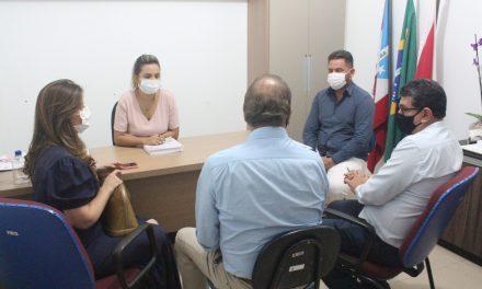 Prefeita recebe presidente do Ideflor-bio e estabelece diálogo pela biodiversidade