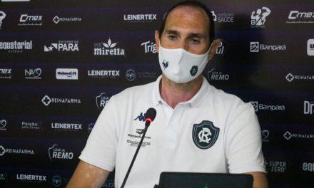 Montagem do elenco do Remo vai valorizar atletas que estão no clube, afirma Thiago Alves