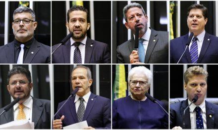 Eleição para presidente da Câmara nesta segunda-feira opõe candidatos de Bolsonaro e Maia