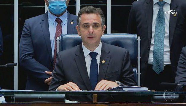Eleito, Rodrigo Pacheco defende assistência aos mais pobres, mas dentro do teto de gastos