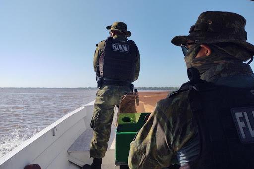 Policiamento nos rios é reforçado com a primeira base flutuante de segurança pública