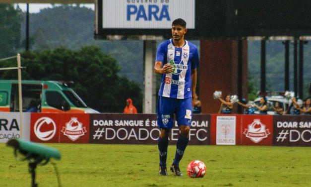 Paysandu tem interesse em retorno de zagueiro com passagem pelo clube em 2019