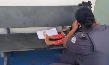 PM resgata menina de 3 anos amarrada com fios pela mãe na zona leste de SP