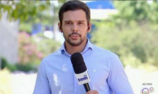 """Repórter que """"ameaçou"""" pular em rio deixa Globo e culpa pandemia"""