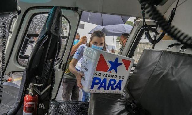 Pará é o estado que menos recebeu vacinas contra a covid-19 em todo o país