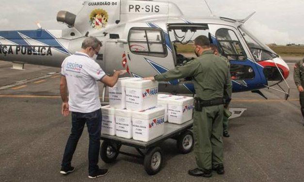 Segup e Sespa distribuem mais de 50 mil doses da CoronaVac