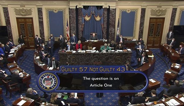Trump é absolvido por senadores em segundo processo de impeachment
