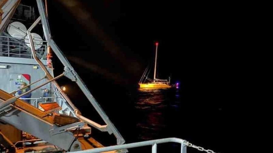 PE: Veleiro interceptado no mar levava 1,5 tonelada de cocaína para Europa