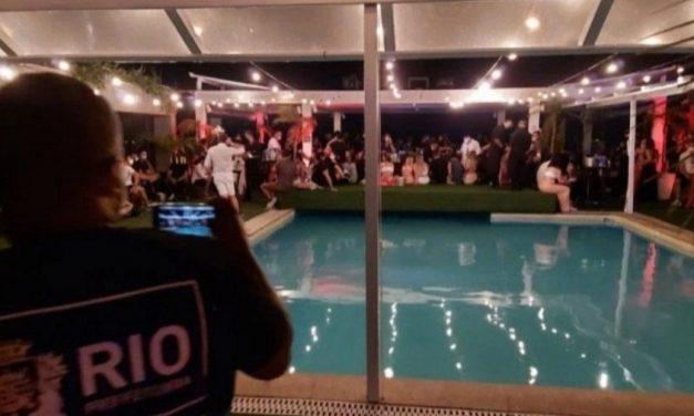 Festa em cobertura de hotel em Copacabana é interrompida pela prefeitura