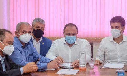 Em reunião com governador, Ministro promete 1,5 milhão de vacinas ao Pará