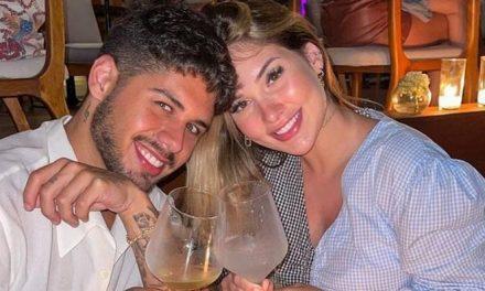 """Virginia Fonseca posa com Zé Felipe e se declara: """"O sorriso mais lindo"""""""
