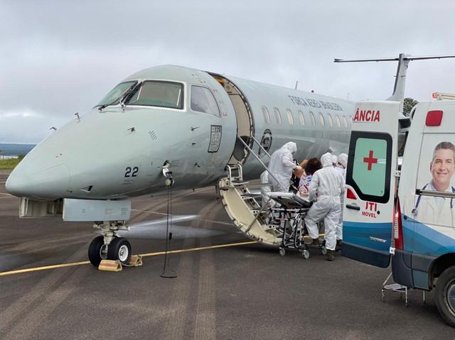 Com quase 200 pacientes em fila por leitos, AM está há dez dias sem transferir doentes a outros estados