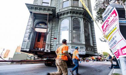 Casa de 139 anos é transportada para mudar de endereço em San Francisco