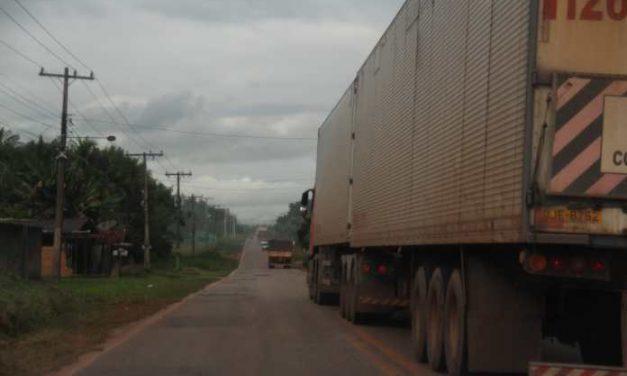 Tráfego de veículos na PA-150 fica intenso após rompimento de trecho da BR-010 em Ipixuna