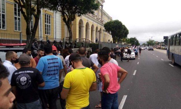 Protestos contra alta dos combustíveis deixam trânsito lento na Grande Belém