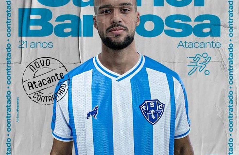 Gabigol? Paysandu anuncia contratação de atacante Gabriel Barbosa e volante Adriel Silva