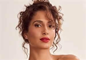 Camila Pitanga compartilhou dois cliques que encantaram a web.
