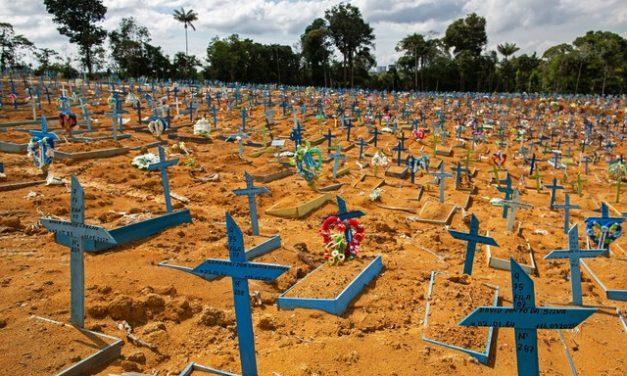 Em menos de dois meses, mortes por Covid registradas em 2021 no Amazonas já supera total de 2020