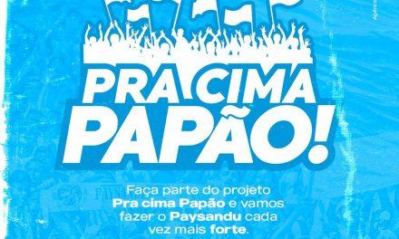 """Visando receita para pagamento de salários, Paysandu lança projeto """"Pra Cima Papão!"""""""