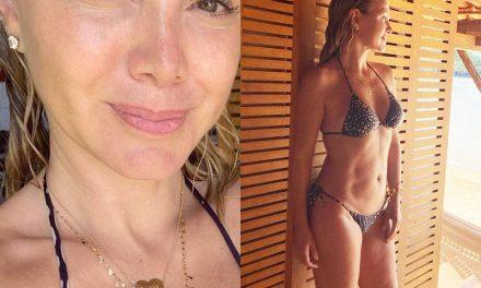 """Eliana posa de biquíni e sem maquiagem: """"Livre, natural e com pouca roupa"""""""