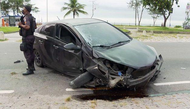 Justiça do RJ concede liberdade ao bombeiro que atropelou e matou ciclista no Rio